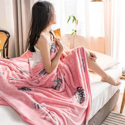 【精选】加厚云貂绒珊瑚绒毛毯盖毯毯子双面绒毯冬季加厚床垫床单