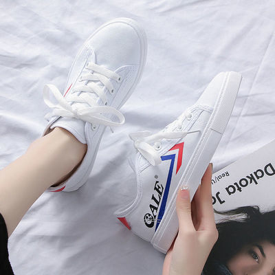帆布鞋女鞋2020新款夏季小白鞋板鞋潮流百搭学生低帮男休闲鞋