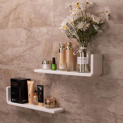 卫生间置物架壁挂式免打孔浴室墙上收纳架化妆品架洗澡间洗手台池