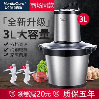品牌绞肉机家用电动不锈钢全自动小型绞馅打肉碎肉机料理机多功能