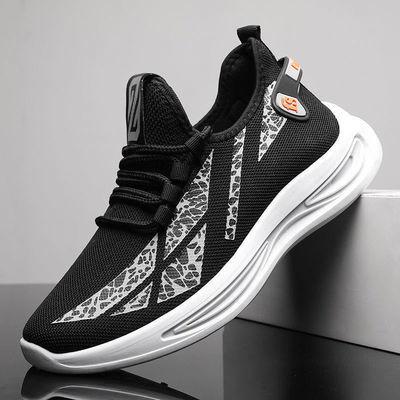 男鞋新款休闲运动鞋韩版潮流百度跑步鞋轻便耐磨板鞋青年学生鞋子