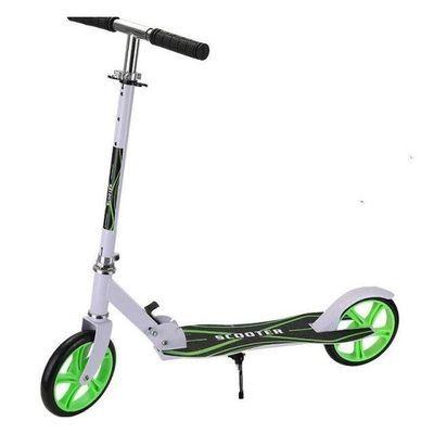 大轮儿童滑板车6-10-12-15岁18中大童两二轮成人代步车折叠溜溜车