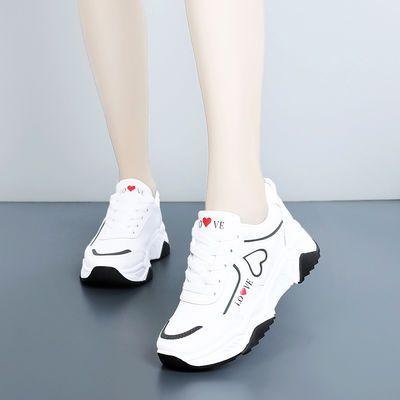 女鞋秋季新款运动鞋女休闲跑步鞋韩版百搭小白鞋女学生旅游鞋子潮