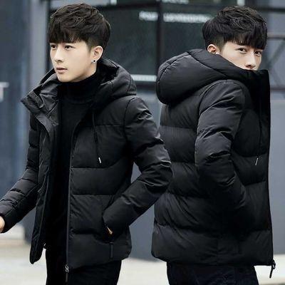 保暖棉衣男士棉服面包服冬季外套男短款修身连帽棉袄反季清仓男装