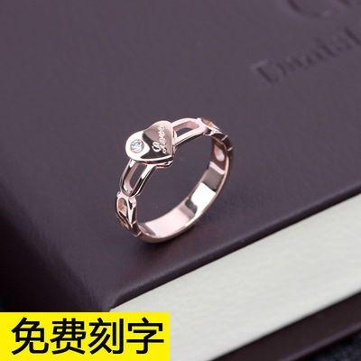 固定圈口 天使之吻钻戒托镶嵌克拉钻戒指空托 莫桑钻戒子