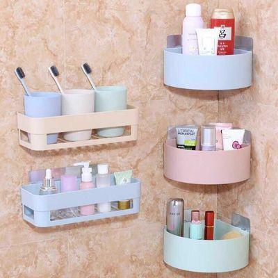(掉落包赔)卫生间收纳免打孔无痕浴室洗手间厕所置物架 肥皂盒