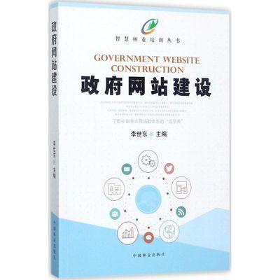 政府网站建设 计算机理论和方法 李世东 等 著 文轩正版图书