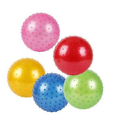 带拉绳皮球儿童充气玩具球带弹簧链练习足球幼儿园拍拍球地摊热卖