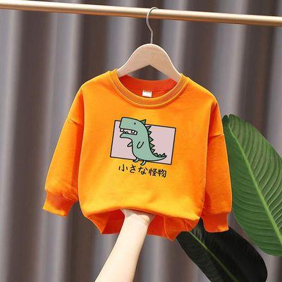 男童女童卫衣秋装2020新款儿童打底衫含棉宝宝长袖中小童上衣洋气
