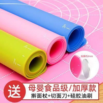 食品级加厚硅胶垫擀面垫大号防滑揉面和面板不沾案板家用烘焙工具