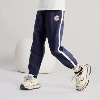 布布发现童装女童运动长裤2020年秋季新款时髦小女孩休闲裤子