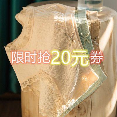 2-4条内裤女士纯棉裆抗菌薄款中腰日系蕾丝透气三角石墨烯秋季