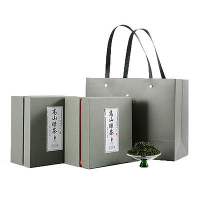 75411/崂山绿茶新茶茶叶浓香型特级散装高山豆香青岛特产礼盒装可选