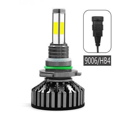 汽车led大灯泡12v24vH1h4h7四面聚改装近光远光灯h11超亮9005一体