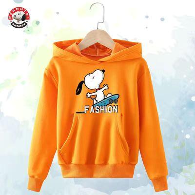 史努比SNOOPY男童春秋冬新款儿童套头卫衣韩版洋气2020中大童卫衣
