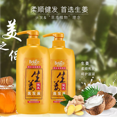 正品洗发水增发密发防脱发洗发露男女通用去屑控油茶籽洗头膏