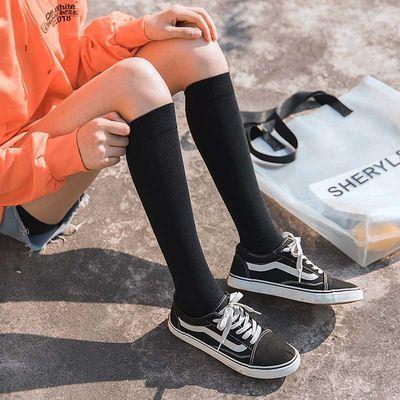 奶黄包日单正统jk制服中筒袜黑白小腿袜短筒袜学生洛丽塔堆堆袜