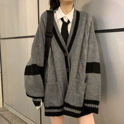 78610/两件套装/单件日系学院风软妹青春系针织开衫毛衣学生衬衫百褶裙