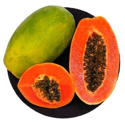 海南红心木瓜3斤装(单果重400-1000g)热带新鲜水果