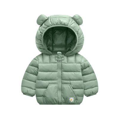 棉服女2020新款儿童羽绒棉服男小童装宝宝婴儿棉衣袄保暖冬装外套