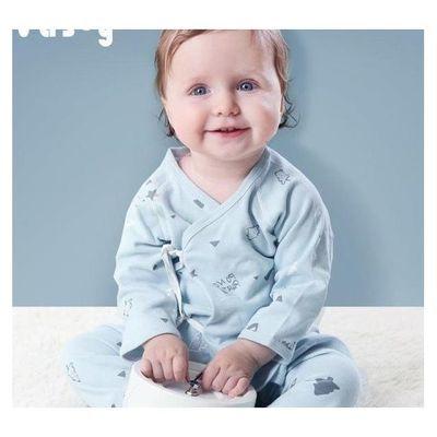 纯棉新生儿衣服婴儿套装刚出生婴儿衣服满月新生儿用品待产包全套