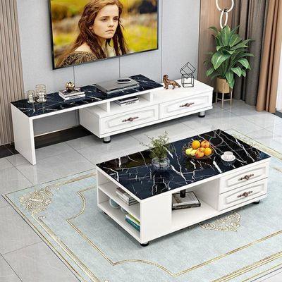 北欧电视柜茶几组合现代简约小户型电视机柜轻奢客厅卧室地柜套装
