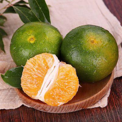 新鲜桔子水果薄皮青桔10斤孕妇橘子柑橘蜜桔青皮蜜桔5/3斤包邮