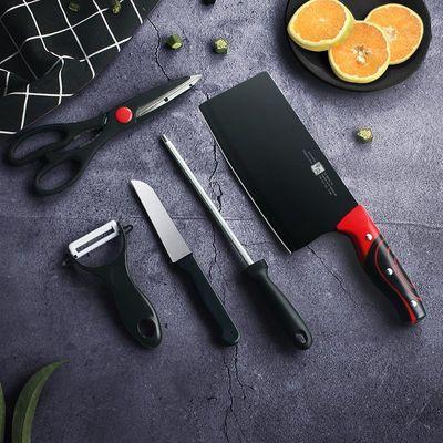 菜刀刀具套装德国工艺厨师专用不锈钢厨房切肉刀家用龙泉切菜锋利