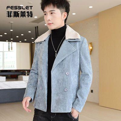 2020新款春秋冬季男士外套韩版修身上衣休闲工装夹克衫帅气潮流