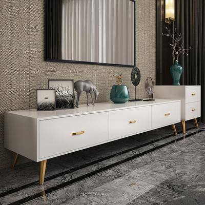 电视柜现代简约电视柜茶几组合轻奢风客厅小户型北欧电视机柜套装