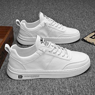 男鞋夏季小白鞋男韩版潮流男士运动休闲板鞋百搭透气白色学生鞋子