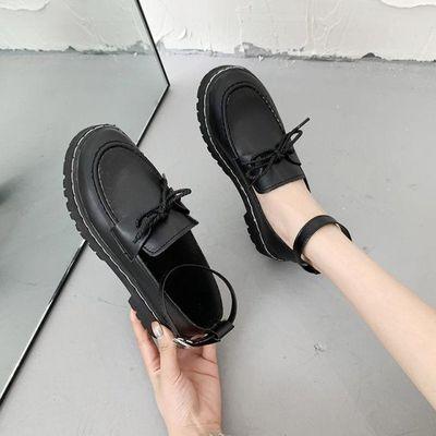 日系lolita洛丽塔学生软妹梅露露低跟jk制服小皮鞋圆头lo少女单鞋