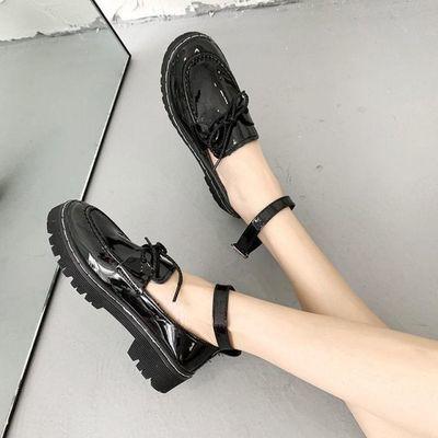 日系lolita洛丽塔花边软妹鞋梅露露低跟jk制服小皮鞋圆头lo少女