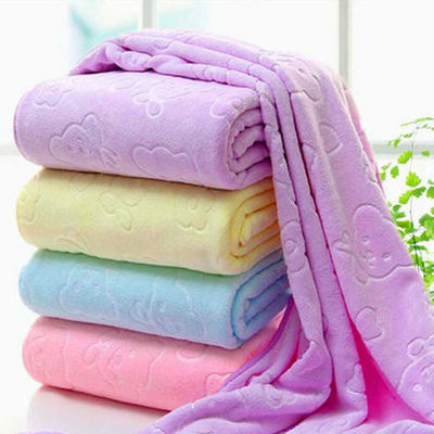 纤维棉!加大浴巾男女宝宝婴儿柔软吸水成人儿童洗澡非纯棉