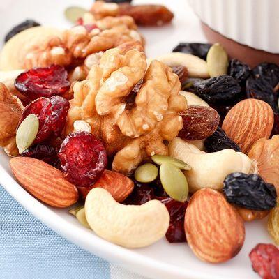 每日坚果5斤2斤1斤混合坚果综合什锦果仁250g100g雪花酥干果零食