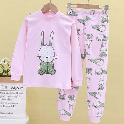 儿童秋衣秋裤套装纯棉男童女童中大童内衣套装宝宝婴儿保暖衣服