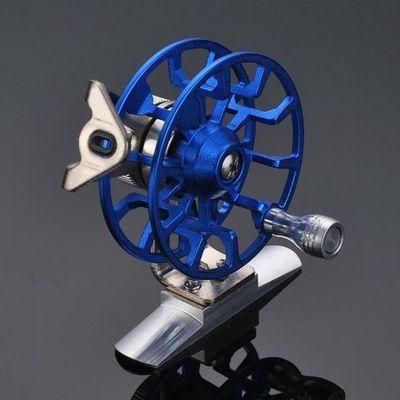 鱼线轮全金属带泄力前打轮渔轮矶竿冰钓轮渔线鱼轮冬钓飞钓轮渔具