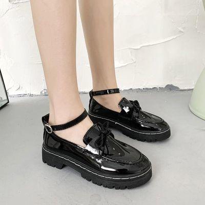 日系lolita洛丽塔软妹学生鞋梅露露低跟jk制服小皮鞋圆头lo少女