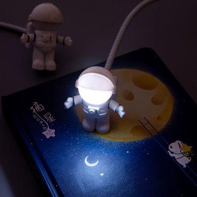 创意宇航员USB小夜灯LED宿舍台灯随身电脑灯充电宝办公便携读书灯