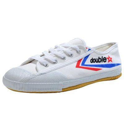 双星田径鞋帆布牛筋底跑步鞋男女训练鞋子中考体育考试低帮运动鞋