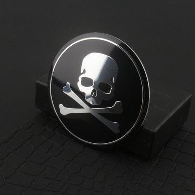 汽车个性改装轮毂中心盖标贴 方向盘标轮毂贴标 65mm各种标志车标