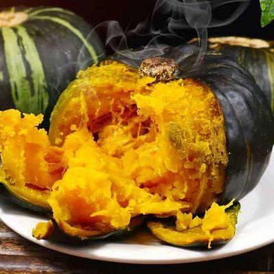 沙漠板栗南瓜新鲜蔬菜当季南瓜板栗味贝贝南瓜辅食糯稀饭南瓜