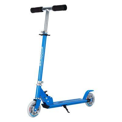 滑板车儿童折叠二轮小学生单脚两轮滑滑车中大童男女孩8-10-12岁