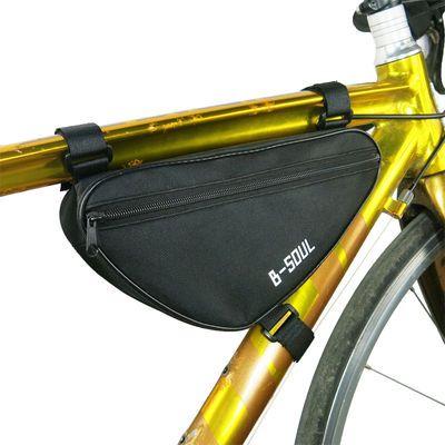 新款B-SOUL山地车包自行车包 马鞍三角包 车梁包工具包单车装备