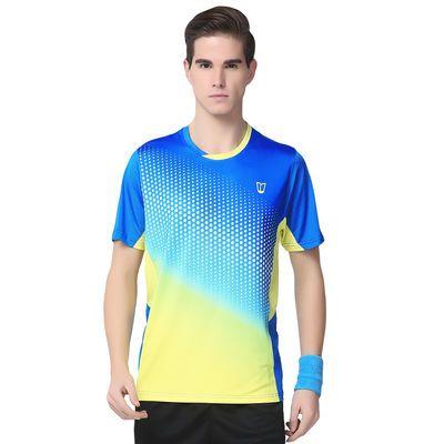 清仓特价运动户外乒乓球网球大码羽毛球服男女短袖速干衣透气上衣