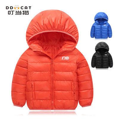 叮当猫童装秋冬季新款儿童棉衣中小童宝宝轻薄棉袄外套男女童棉服