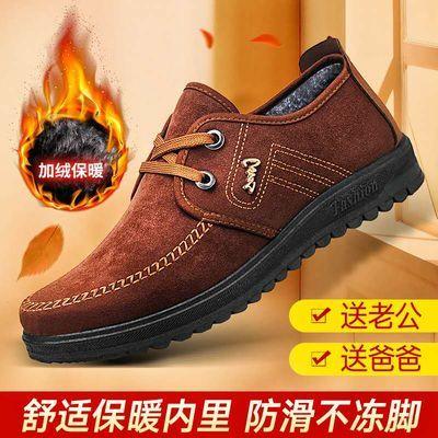 【热销过万】老北京布鞋男鞋单鞋春秋季男士休闲防臭透气帆布鞋
