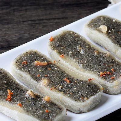 温州正宗糯米软糕黑芝麻软糕糯米糍地方特色小吃传统点心批发手作