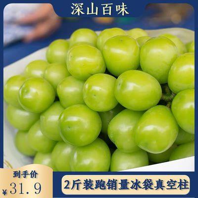 阳光玫瑰青提 2/4斤装香印有籽葡萄新鲜青幻日本晴王一级孕妇水果