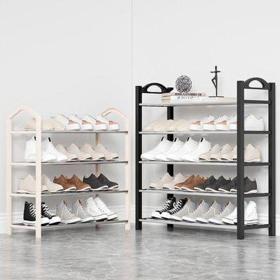 鞋架放的用鞋子架子柜子简单粉色可爱圆点卧室小号少女房间